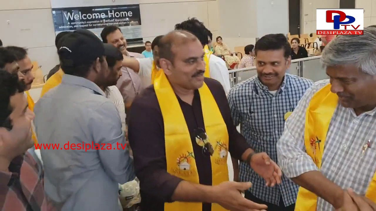 TDP Mahanadu - Dallas - Ghanta Srinivas Arrives to Dallas