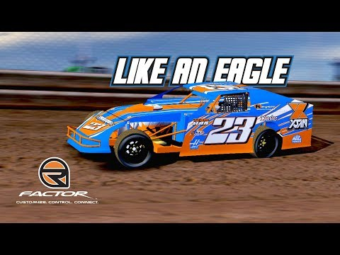 rFactor: Like an Eagle (UMP Modified @ Eagle Raceway)