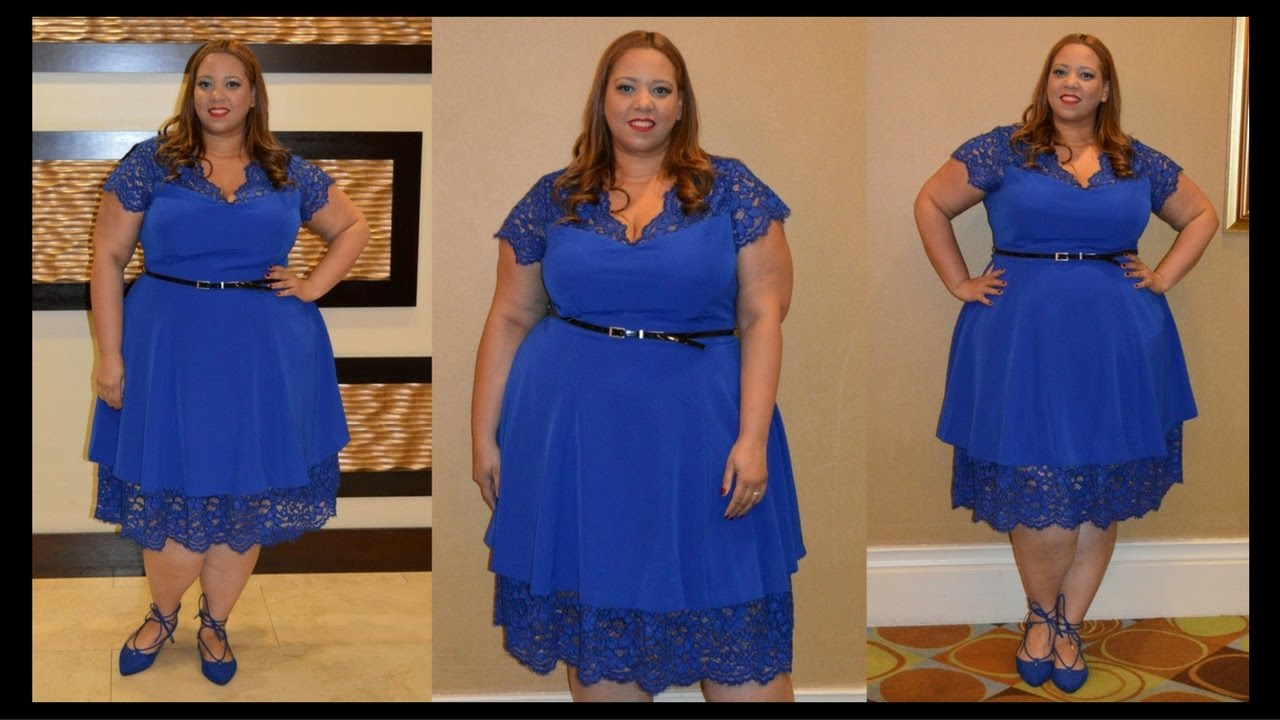 Plus Size OOTD | Fit & Flare Dress by Christian Siriano x Lane ...