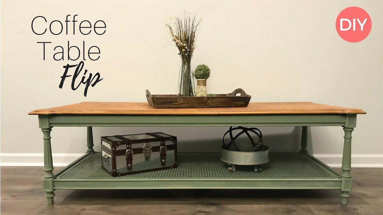 coffee table flip goodwill