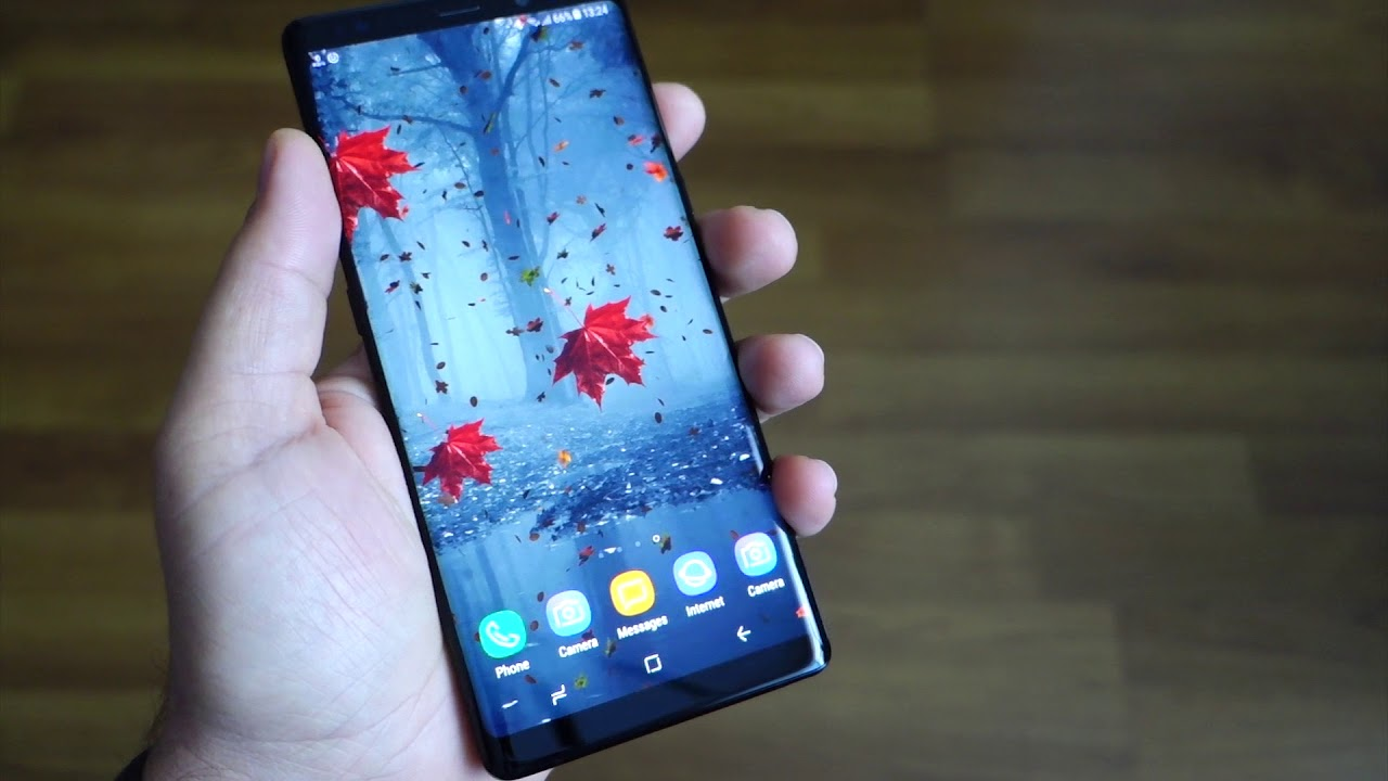 Note 8 And The Best 3D Wallpaper Parallax 2018