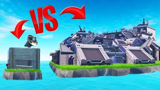 Who Can BUILD The BEST MILITARY BASE?! (Fortnite Challenge)