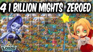4 1 Billion Might Players Zeroed Back To Back In 2 Hours - Lords Mobile