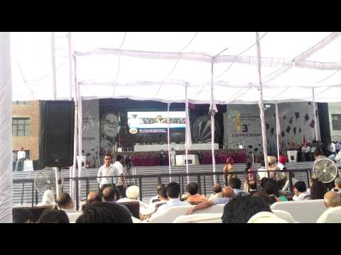 President of India Pranab Mukherjee Addressing at LPU 3rd Convocation