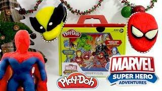 Pâte à modeler Super Héros de Marvel Spiderman Incroyable Hulk Ironman Wolverine Thor Playdoh