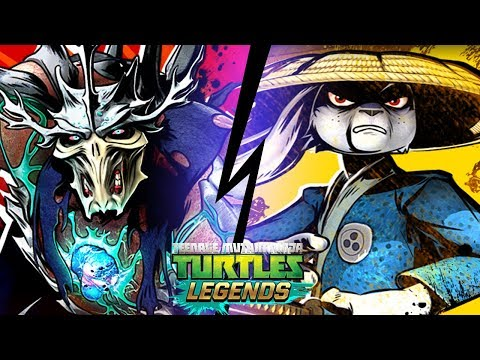 Черепашки-Ниндзя: Легенды - УСАГИ ПРОТИВ ХИТРОСТИ (TMNT Legends UPDATE X)
