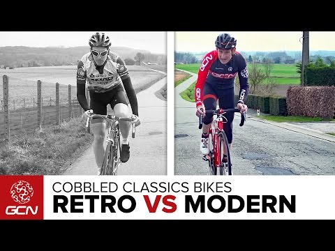 Retro Vs Modern - Cobbled Classics Carbon Bike Special