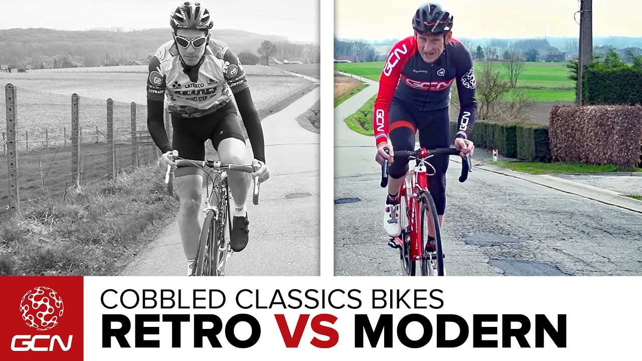 Retro Vs Modern Cobbled Classics Carbon Bike Special Youtube