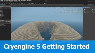 Cryengine 5 Getting Started : Install & First Project