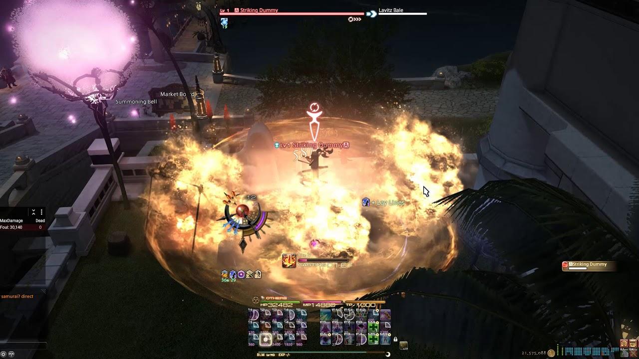 4 05 BLM - 4998 DPS   Final Fantasy XIV: Stormblood