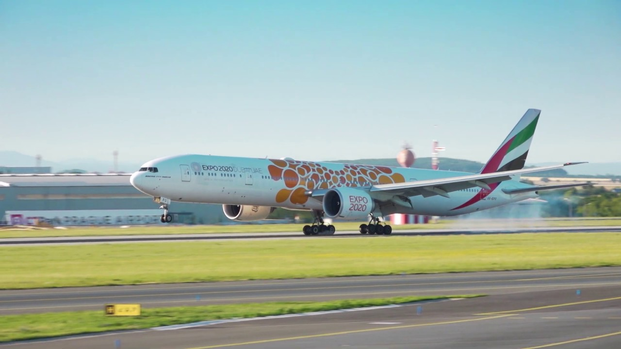 Connecting the world | Emirates Expo 2020 fleet flies high | Emirates Airline