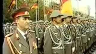 Grenztruppen der DDR - Ehrenparade der NVA 1989