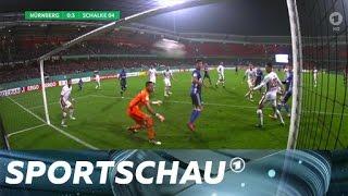 DFB-Pokal: Schalke macht es gegen Nürnberg spannend | Sportschau