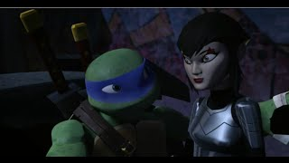 TMNT 2012~Donnie April and Leo Karai~It's countdown