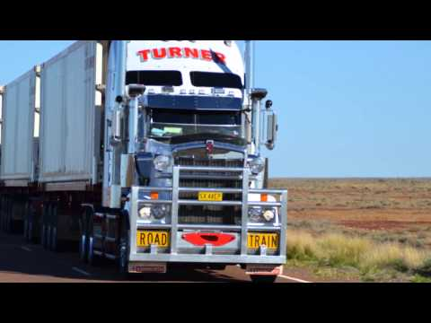 australia's biggest truck - ustralian oad rains (he biggest rucks in the world) - Youube