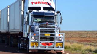 Repeat youtube video Australian Road Trains (The biggest Trucks in the world)