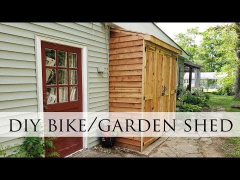 DIY Bike Garden Shed