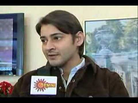 maheshbabu  interview