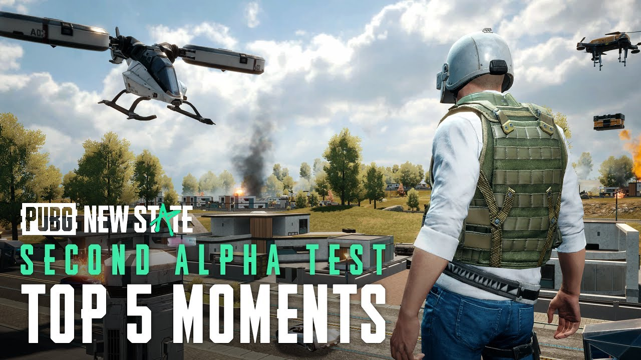 Top 5 Moments of Second Alpha | PUBG: NEW STATE