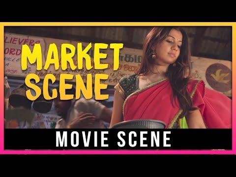 Yagavarayinum Naa Kaakka - Market Scene   Aadhi    Nikki Galrani    Richa Pallod