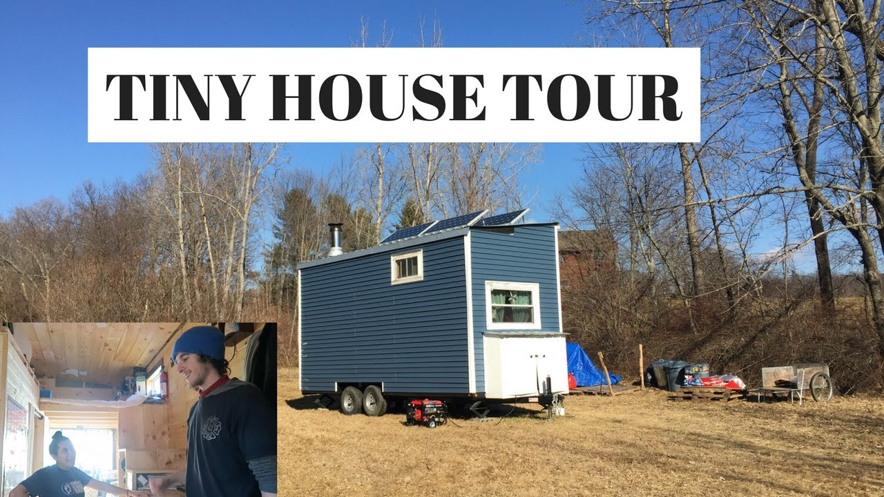 My Brother Sister In Law S Tiny House Tour Youtube