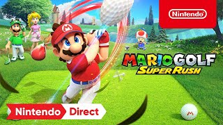Mario Golf: Super Rush - Announcement Trailer - Nintendo Switch