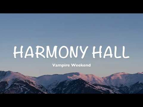 Vampire Weekend - Harmony Hall (Lyrics | Cover by Dylan Gardner) Mp3
