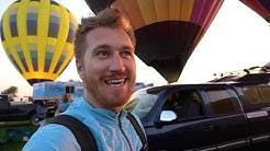 Hot Air Balloon Festival in Galt, California