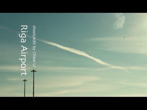 Waiting at Riga Airport - Travel Short Film