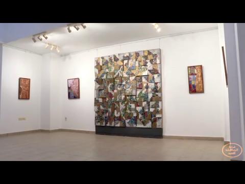 Interview with artist Zeinab Al-Sageny at Al-Nashar Museum - Alex Cairo  Desert Road