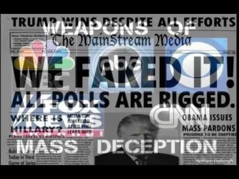 "EPIC Fake News Montage!! ""Trump WON'T Win""-MSM 2017"