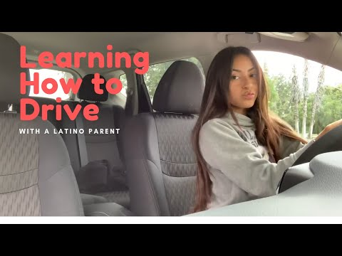 LEARNING HOW TO DRIVE WITH A LATINO DAD (extremely hilarious if you understand Spanish)