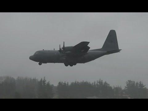 Hercules makes emergency landing at  Whenuapai     New Zealand