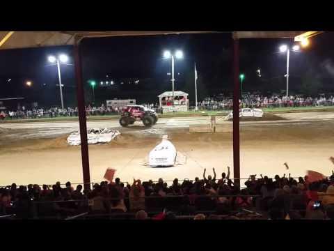 Coles County summer nationals monster truck