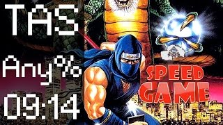 Speed Game : TAS de Ninja Gaiden II en 9:14