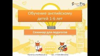 Приглашение на онлайн-интенсив Обучение английскому детей 1-6 лет