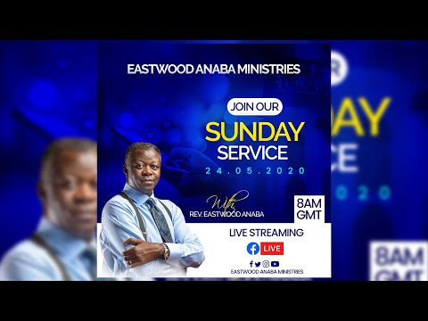 How To Design CHURCH FLYER: Online Church Service Flyer W/ Eastwood Anaba   Photoshop Tutorial