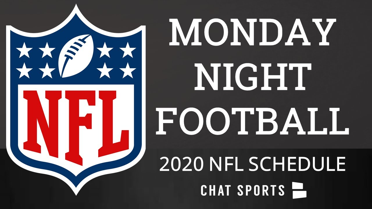 Monday Night Football 2020 Breaking Down Every Mnf Game From The 2020 Nfl Schedule Release Youtube