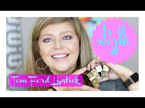 Is it worth it?? Tom Ford Lipstick