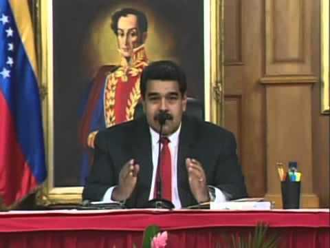 Diálogo Maduro-Oposición: Palabras iniciales (p. 1) de Nicolás Maduro