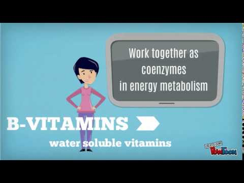 Summary Of Vitamin Functions And Sources