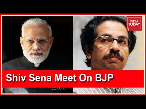 Uddhav Thackeray Calls Shiv Sena Meet To Decide On Alliance With BJP