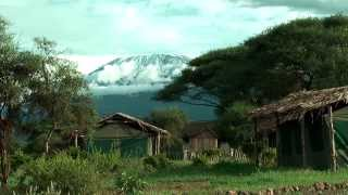Mount Kilimanjaro from Amboseli - beautiful view to Kilimanjaro