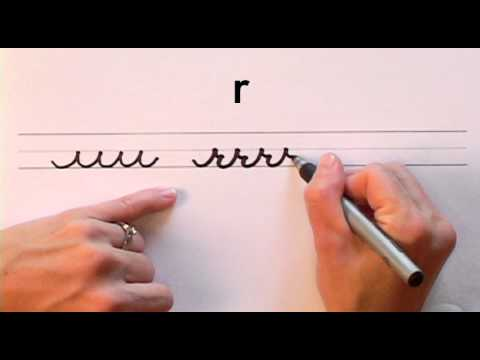 How To Write In Cursive Lesson Complete Course Free Worksheets