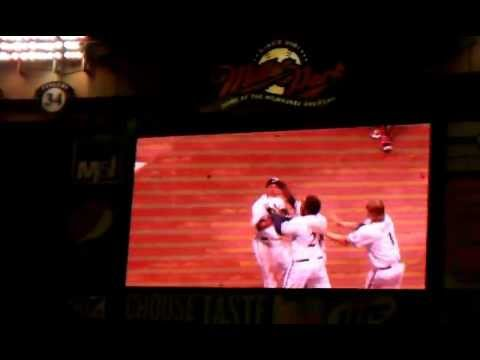 2011 NLDS Game 5 Miller Park Celebration
