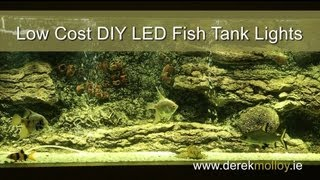 Aquarium Diy Led Lights Tutorial - Bright And Low-cost