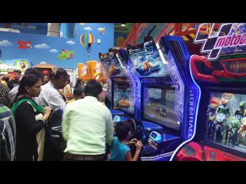 Fun city in DLF- Mall of India, Noida. Games and rides Reviews