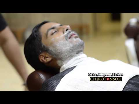 Beard/Mustache Shave Tutorial by Donato The Surgeon Barber Chirotonsor Barbershop