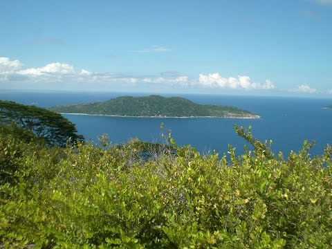 Nid d Aigle summit, Belle vue, La Digue Island, Seychelles