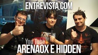 Entrevista com ArenaOx e Hidden - Youtubers / Diablo - Lançamento Diablo 3: Reaper of Souls